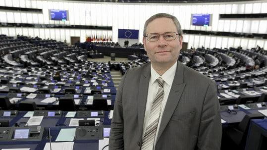 Gilles LEBRETON in plenary week 7 2015 in Strasbourg